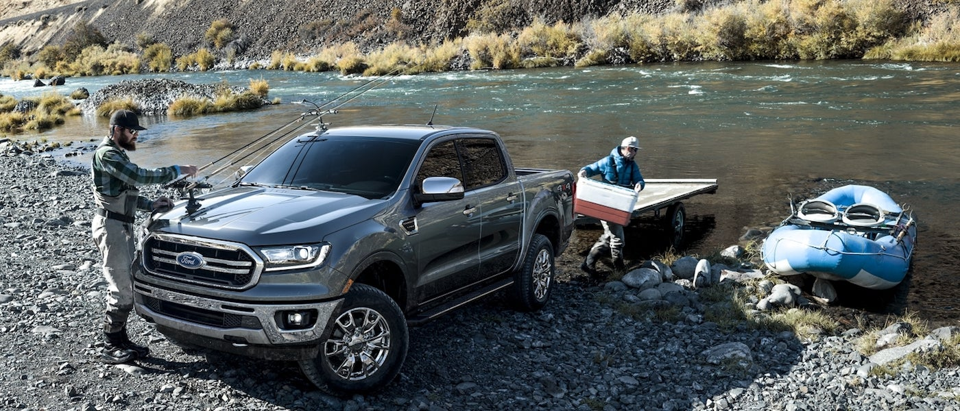 2020 Ford Ranger Towing Capacity